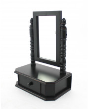 Traditional Table Mirror with Drawer