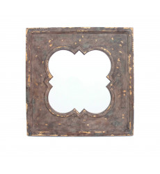 Vintage Cosmetic Wall Mirror with Qua...