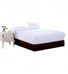 Square Quilted Accent Piping Mattress...