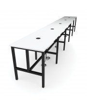 """OFM Endure Series Model 9020-T 231"""" Standing Height Table, White Dry-Erase Top"""
