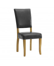 Open-Back Parsons Dining Chair, Set of 2 - Charcoal